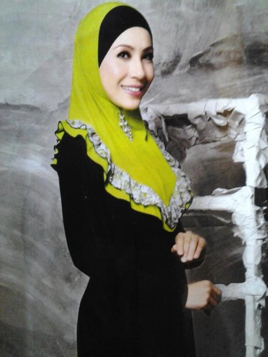 in fesyen muslimah and tagged Irma model tudung D'Haja , Tudung Raya