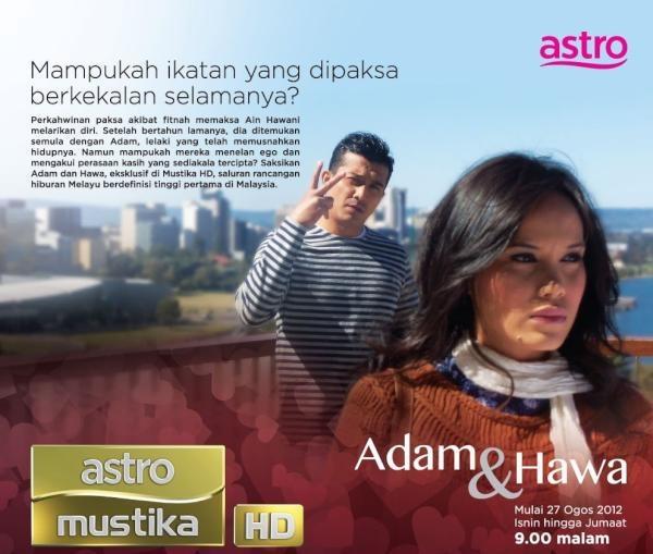 Blog PostDrama Adam Dan Hawa di Astro Mustika HD
