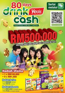 Menang RM100 Contest Yeo's Malaysia