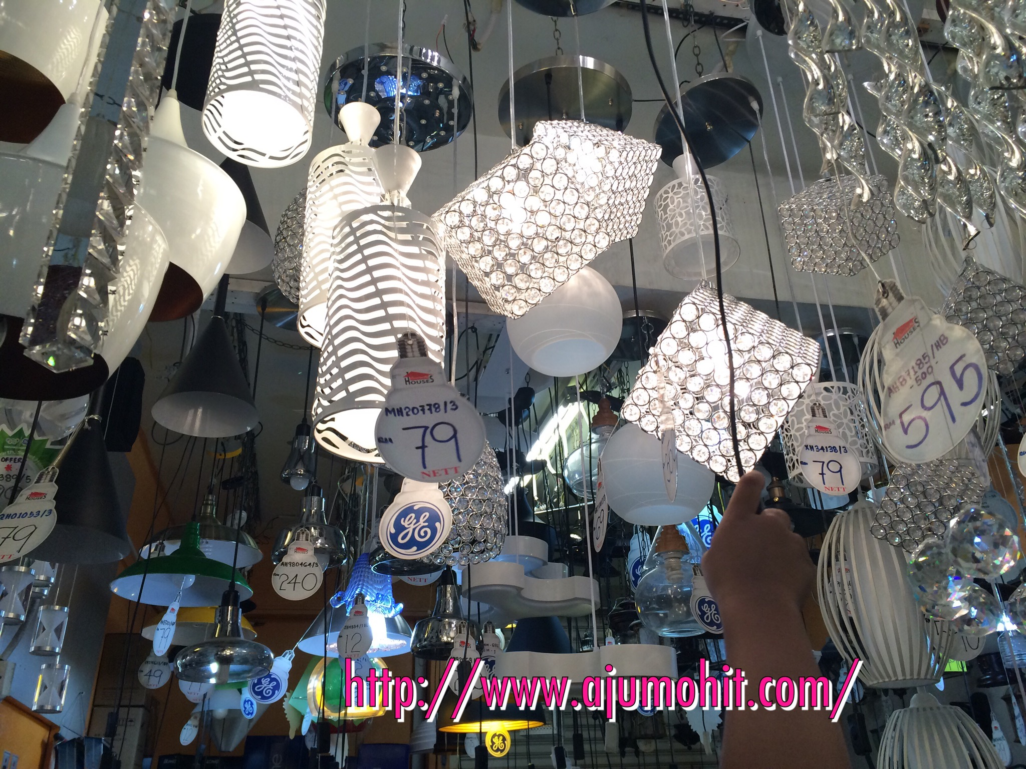 Kedai lampu murah di puchong