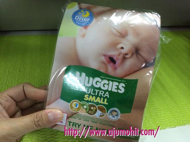 sampel lampin bayi pakai