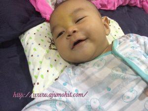 Baby Dzar selsema dan batuk