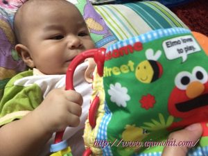 Baby Dzar genap 4 bulan