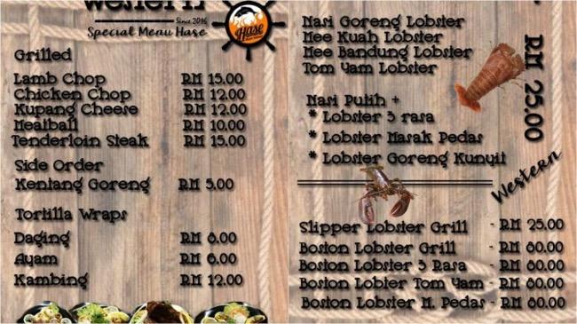 Lobster di damansara