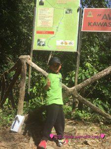 Aktiviti mendaki Hutan Lipur Gunung Nuang