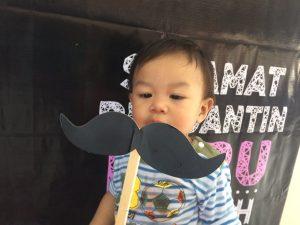 Perkataan pertama Dzar di usia 1 tahun 4 bulan