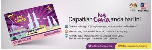 Kad Ceria | Diskaun sehingga 30% bagi barangan, perkhidmatan dan makanan