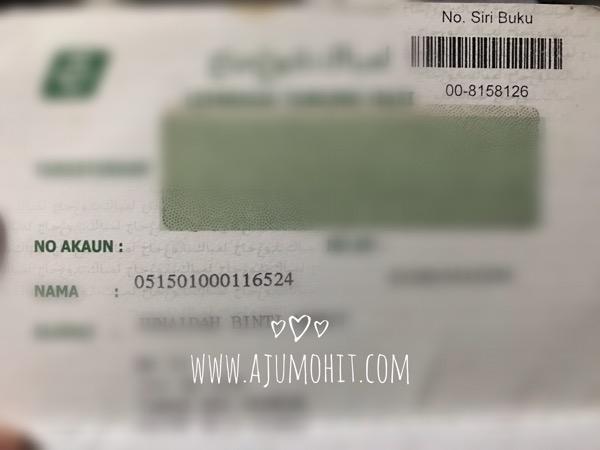 Semak baki akaun Tabung Haji secara online