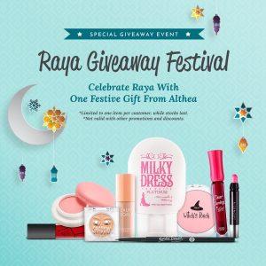 Riang Ria dengan Althea Raya Giveaway Festival