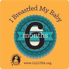 Penyusuan susu ibu 6 bulan