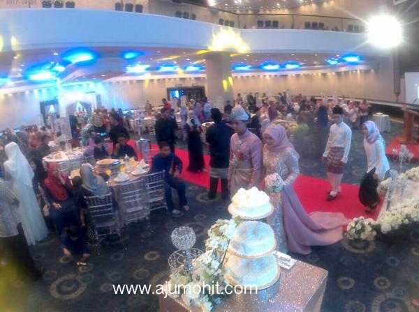 majlis kenduri kahwin di Hotel Grand Blue Wave Shah Alam