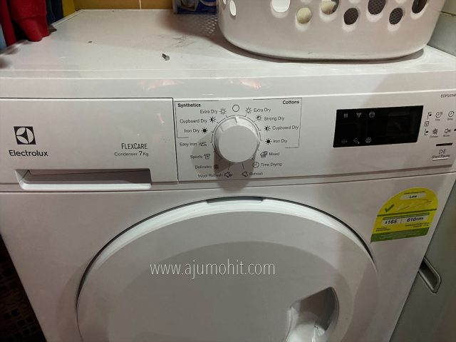 review electrolux dryer