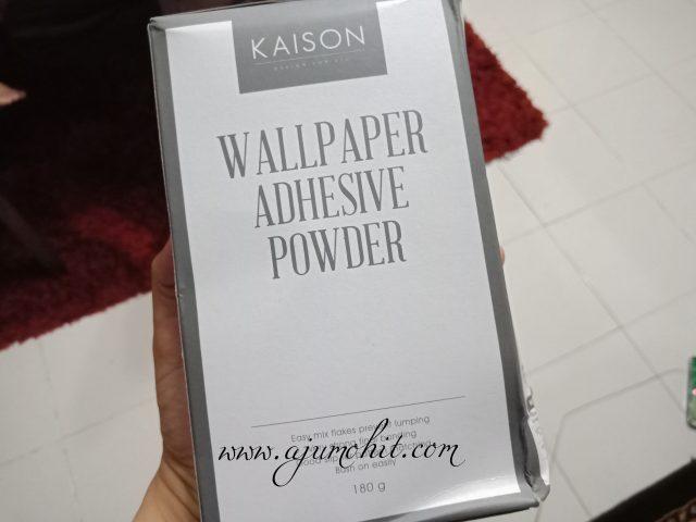 gam serbuk untuk tampal wallpaper kaison