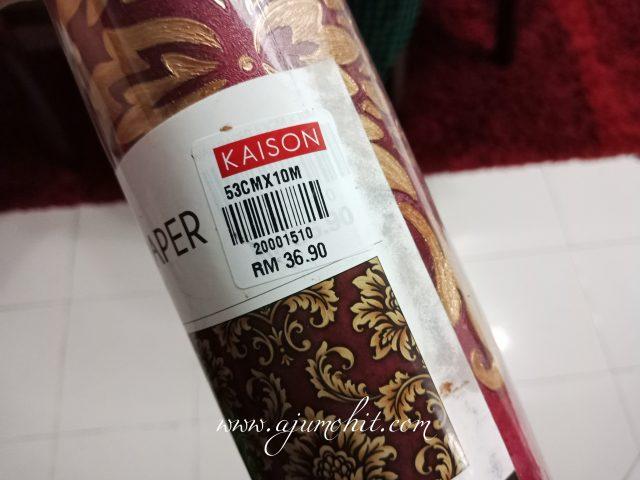 tampal sendiri wallpaper DIY kaison