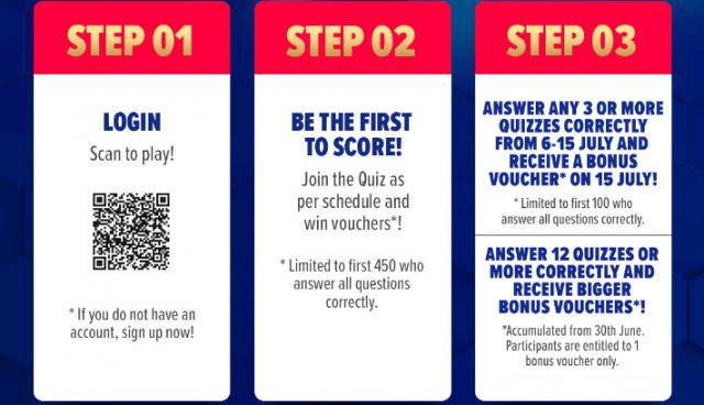 Lazada Match Day Quiz