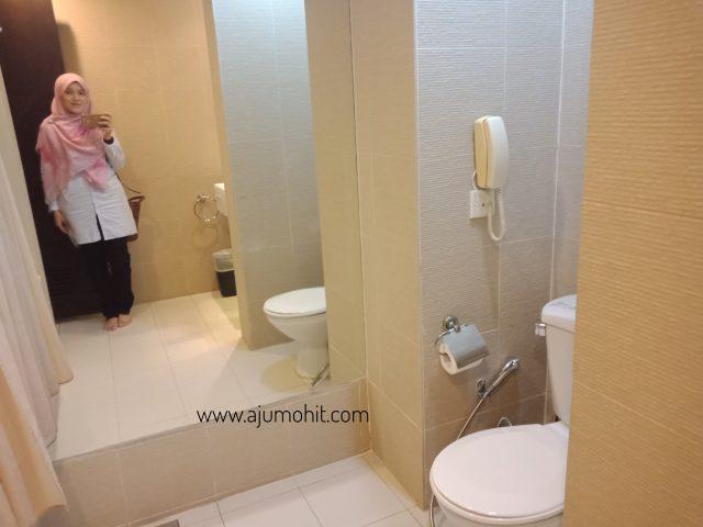 bilik di swiss garden resort hotel