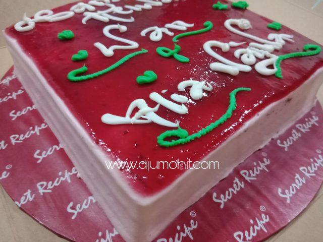 kek secret recepi red velvet