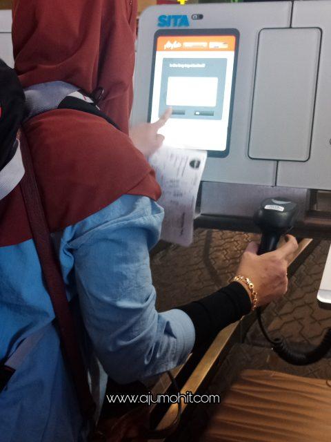 cara check in beg di air asia