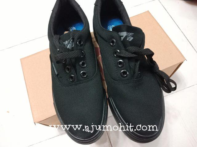 harga kasut sekolah hitam terkini
