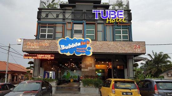 tube hotel klebang melaka review