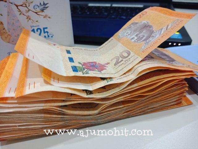 simpan duit rm20