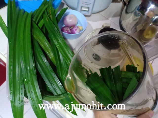 nasi lemak hijau