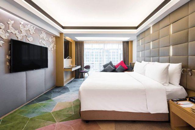 bilik di hotel le meridian hotel kota kinabalu