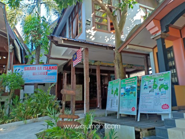 Percutian di Pulau Perhentian Kecil Shari La Island Resort