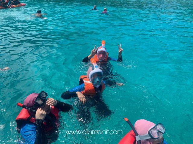 Percutian di Pulau Perhentian Kecil