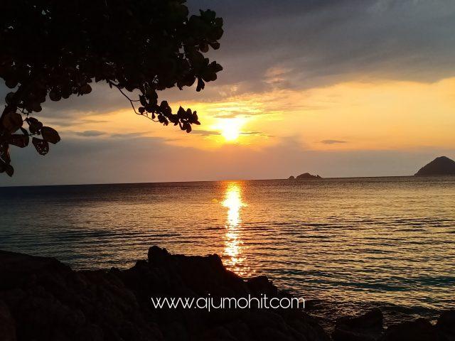 aktivti wajib tengok sunset di pulau perhentian kecil