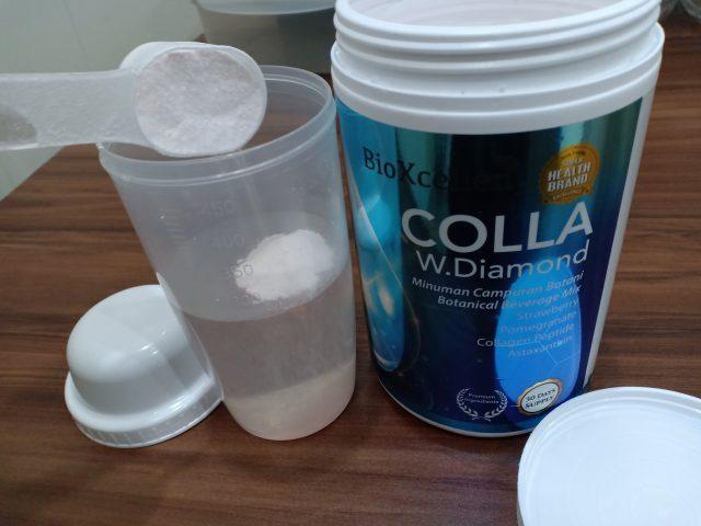 bioxcellent colla white diamond