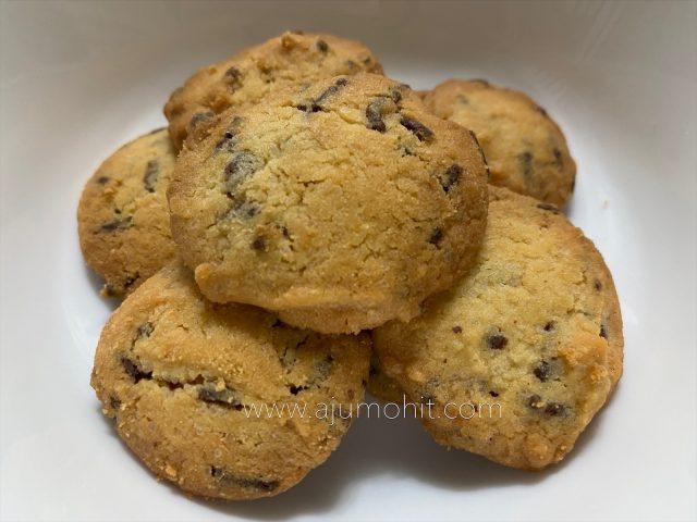 Resepi cookies sukatan cawan ala Famous Amos