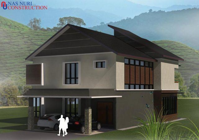 Bagaimana bina rumah banglo