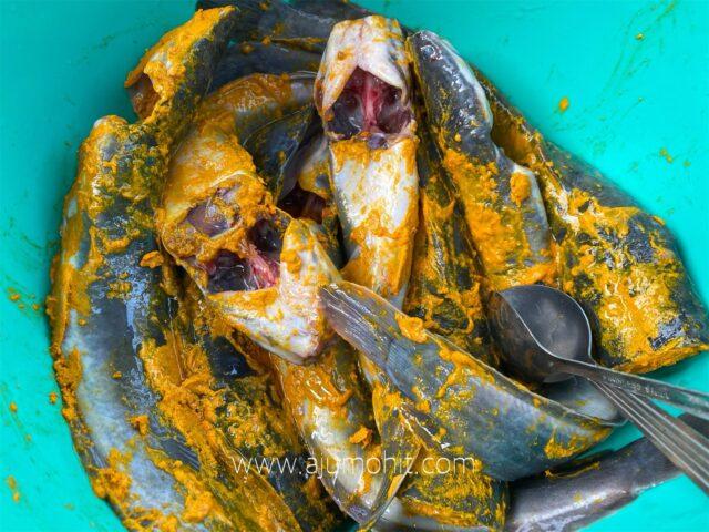 petua salai ikan keli, resepi ikan keli salai