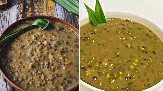 resepi bubur kacang hijau manis