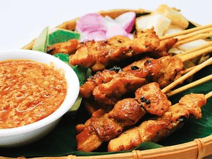 sate, makanan tradisi malaysia sate