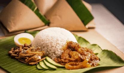 nasi lemak, gambar makanan tradisional, gambar makanan tradisional melayu