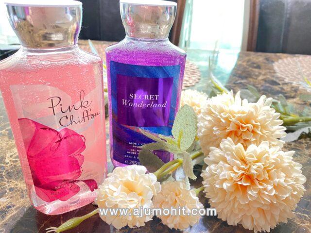 shower gel bath & body works wangi